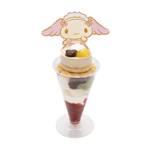アズキの栗あずきパフェ (750円)