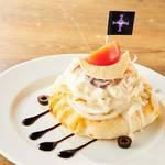 ワンピースタワー Cafe Mugiwara 白ひげの大海のオープンシーフードサンド 画像