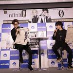 田所陽向&千葉瑞己、infinit0による1stミニアルバム「0(ゼロ)」制作記念イベントに登壇!8