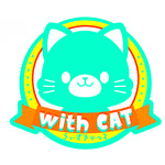 「withCAT」ロゴ