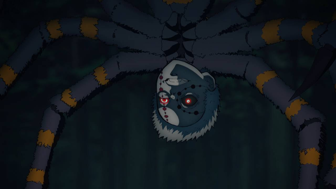 蜘蛛の鬼(兄)