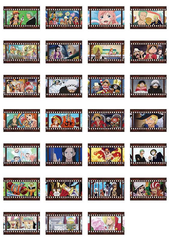『ONE PIECE』の「フィルム風コレクション」が登場!2