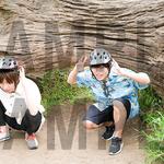 タワーレコード:岡本信彦&前野智昭 2ショットL判ブロマイド