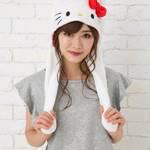 サンリオキャラクター 耳が動く帽子 ハローキティ 画像2