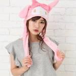 サンリオキャラクター 耳が動く帽子 マイメロディ 画像2