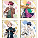 A3! ミニ色紙コレクション 春組&夏組 / 秋組&冬組(各全12種)