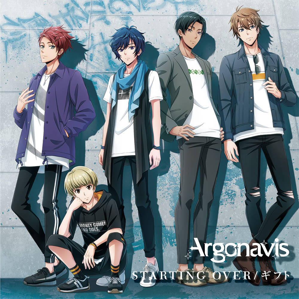 『Argonavis』の2ndシングル「STARTING OVER/ギフト」2