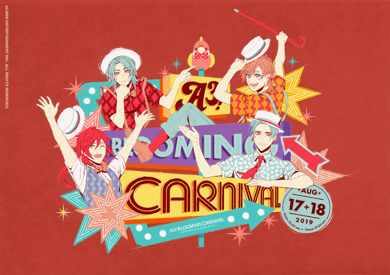 『A3!(エースリー)』初のフェス型イベント「A3! BLOOMING CARNIVAL」