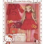 LiccA Stylish Doll Collections_ハローキティ 45th アニバーサリー スタイル3