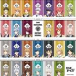 『ウインドボーイズ!』8月誕生日キャラクターの壁紙配布3