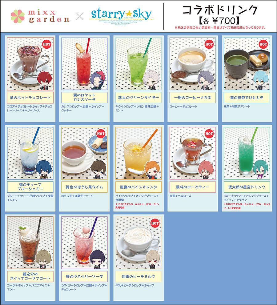 『Starry☆Sky』コラボカフェ5