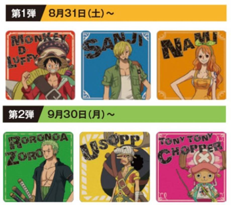 『ONE PIECE  STAMPEDE』×「ユニモちはら台」10
