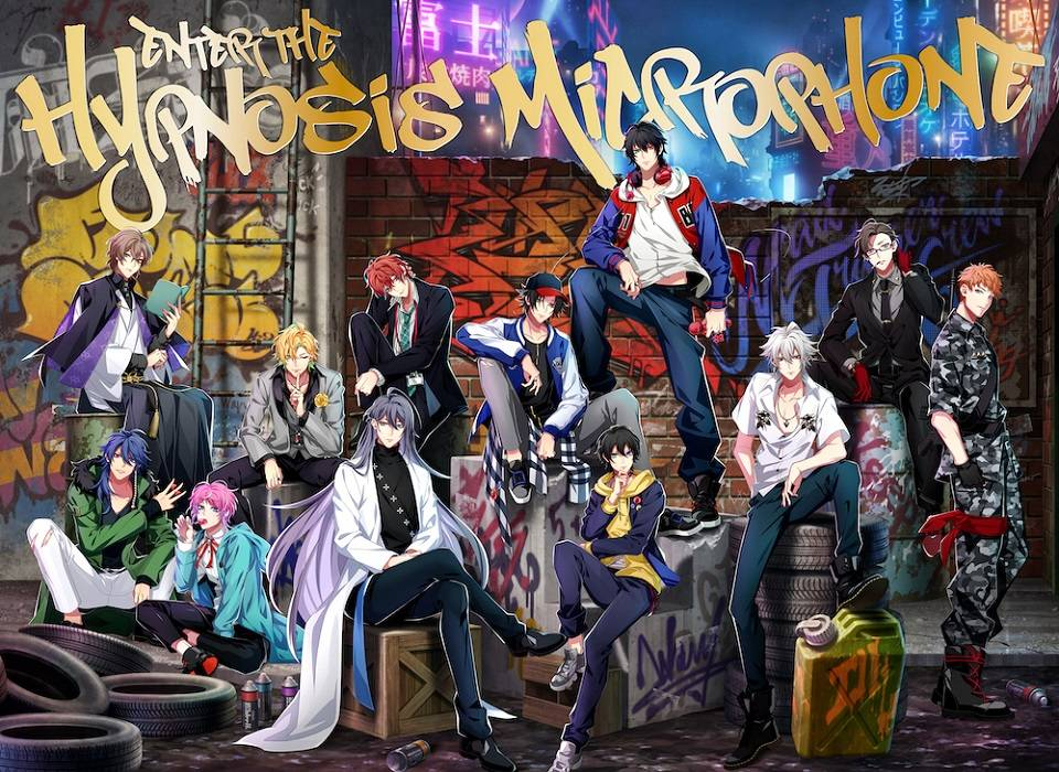 Enter the Hypnosis Microphone 初回限定LIVE版 ジャケ写