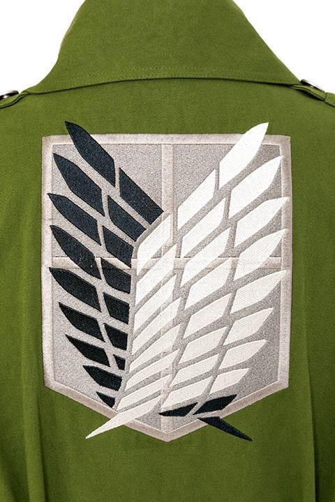 「進撃の巨人」調査兵団ロングコート7