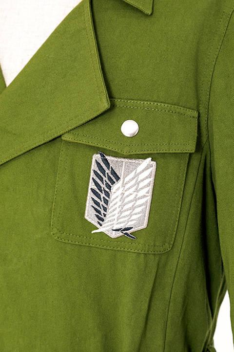 「進撃の巨人」調査兵団ロングコート9