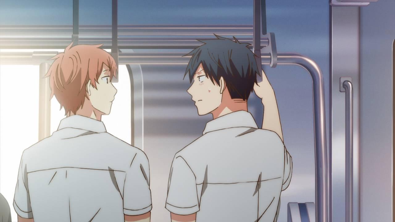 ノイタミナアニメ『ギヴン』第10話の先行カットが解禁!真冬にキスしたことに狼狽える立夏は……!?7