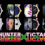 HUNTER×HUNTERとTiCTACが初コラボした腕時計が登場!