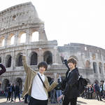 染谷俊之さん、植田圭輔さんの2人が向かった先は憧れの国イタリア!