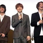 赤澤遼太郎、立石俊樹、北川尚弥ら映画『先生から』舞台挨拶 写真2