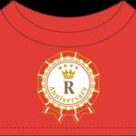 C賞:PRINCE CAT コスチューム 3rd Anniversary ロゴTシャツ(全11種)
