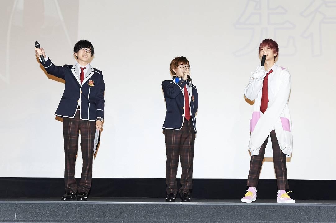 テレビアニメ『ACTORS』先行上映会レポート! 写真画像numan1