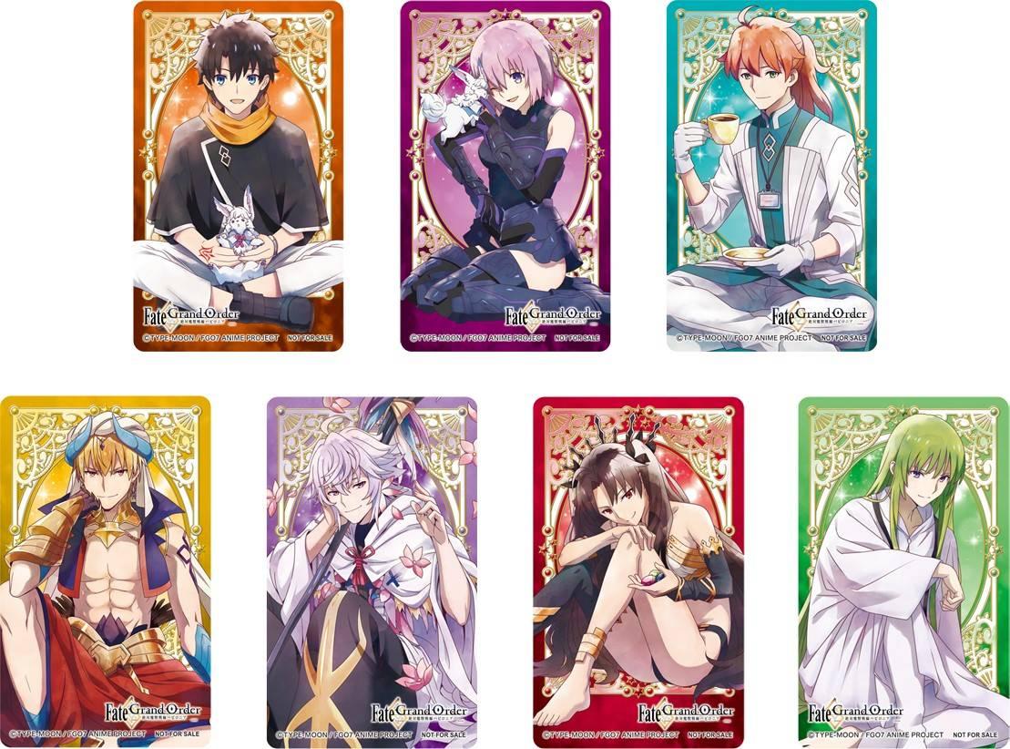 TVアニメ『Fate/Grand Order』フェア、全国アニメイトにて開催!描き下ろしクリアカードがもらえる!