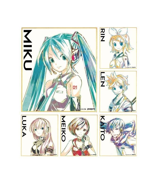 初音ミクたち『ピアプロキャラクターズ』アート調の絵柄で新商品が発売!6