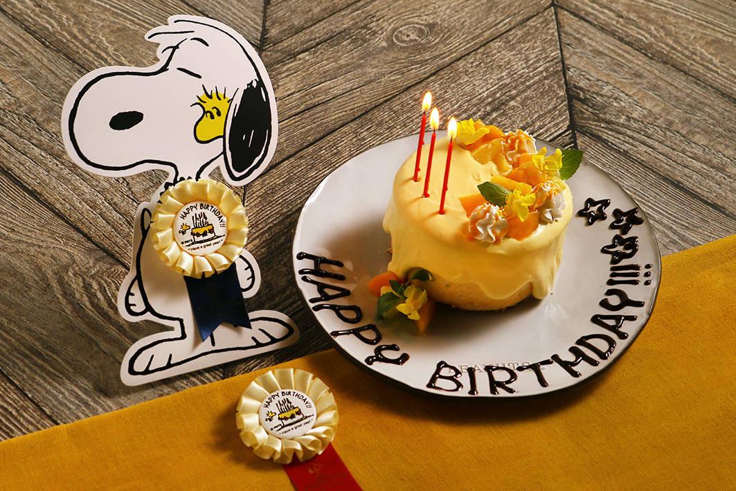 ウッドストックのHAPPY BIRTHDAY!!! プラン1