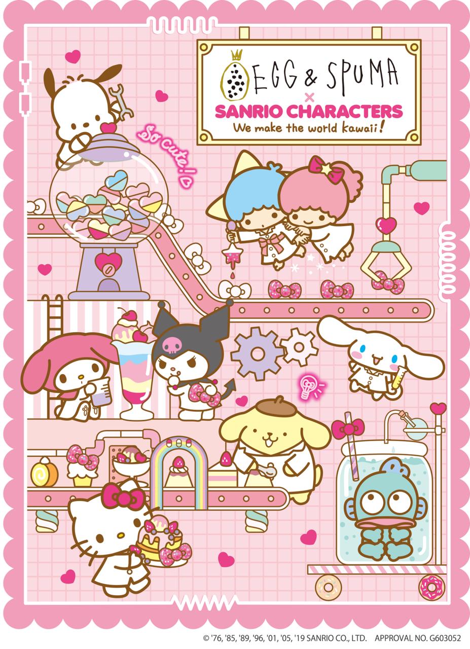 サンリオキャラクターズコラボカフェ1