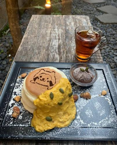 だらりぐまラスカル×裏参道ガーデン コラボカフェ6