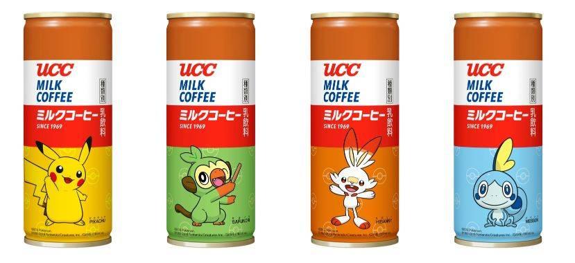 『UCC ミルクコーヒー ポケモン缶 250g』