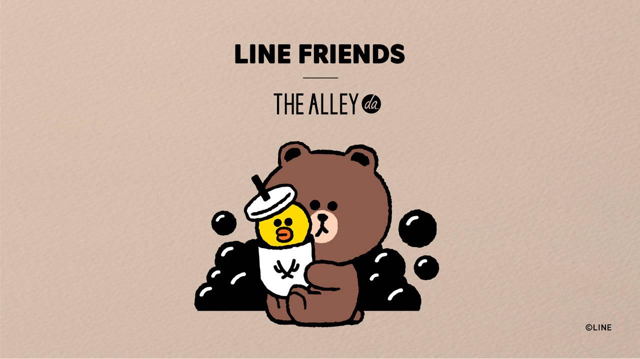 「THE ALLEY(ジ アレイ)」×「LINE FRIENDS(ラインフレンズ)」3