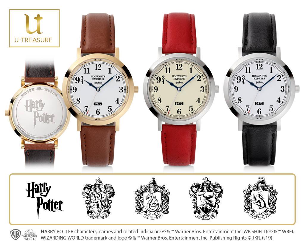 『ハリー・ポッター』ホグワーツ特急モチーフの腕時計1