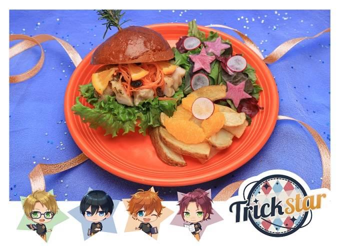 【Trickstar】綺羅星★オレンジチキンバーガー  1,590円