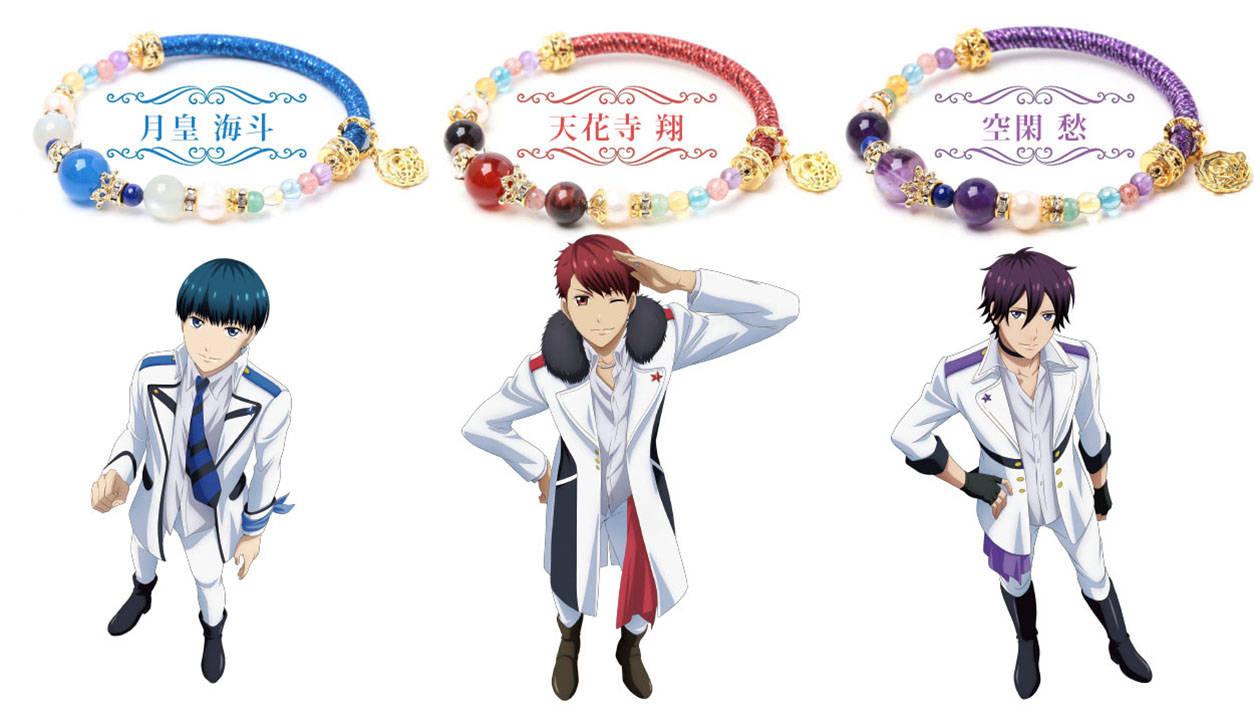 『スタミュ』team鳳メンバー5人をイメージした天然石ブレスレットが登場!青春がスパークする☆3