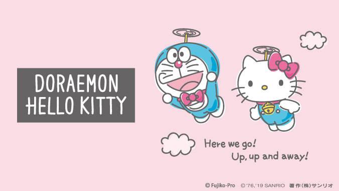 DORAEMON HELLO KITTY1