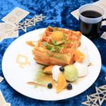 和風ワッフルプレート(ロマニ・アーキマンオリジナルカード付き)  1,390円