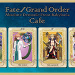 「Fate/Grand Order -絶対魔獣戦線バビロニア- Limited Cafe」7