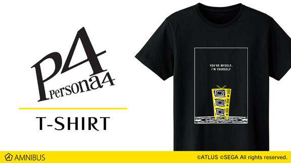 『ペルソナ4』『ペルソナ5』のTシャツ、コーチジャケットが受注生産決定!