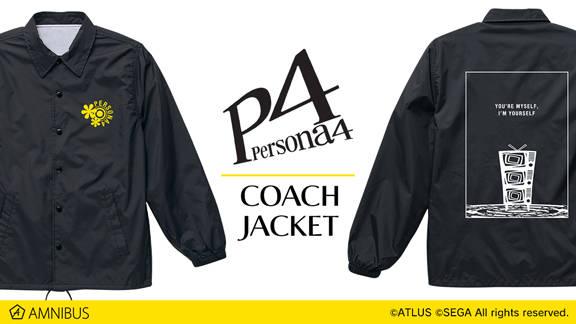 『ペルソナ4』『ペルソナ5』のTシャツ、コーチジャケットが受注生産決定!3