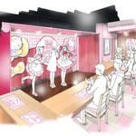 『ハローキティ』×「@ほぉ~むカフェ」3