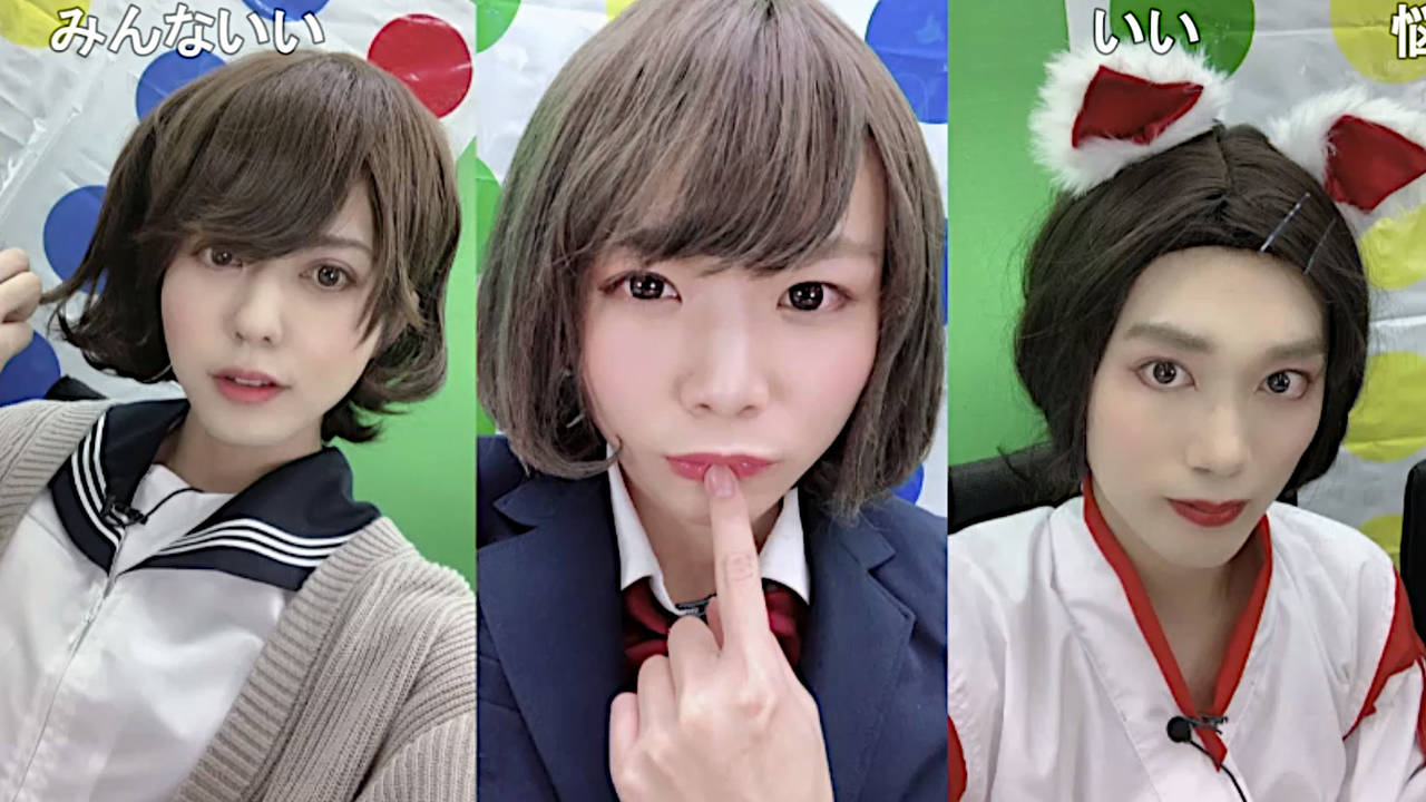 汐谷文康・浦尾岳大・小林大紀、若手声優が美少女に大変身!?女装ツイスターゲームでドキドキの展開