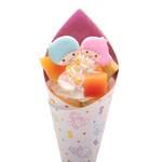 キキ&ララのフルーツクレープ キキ&ララ45周年 画像