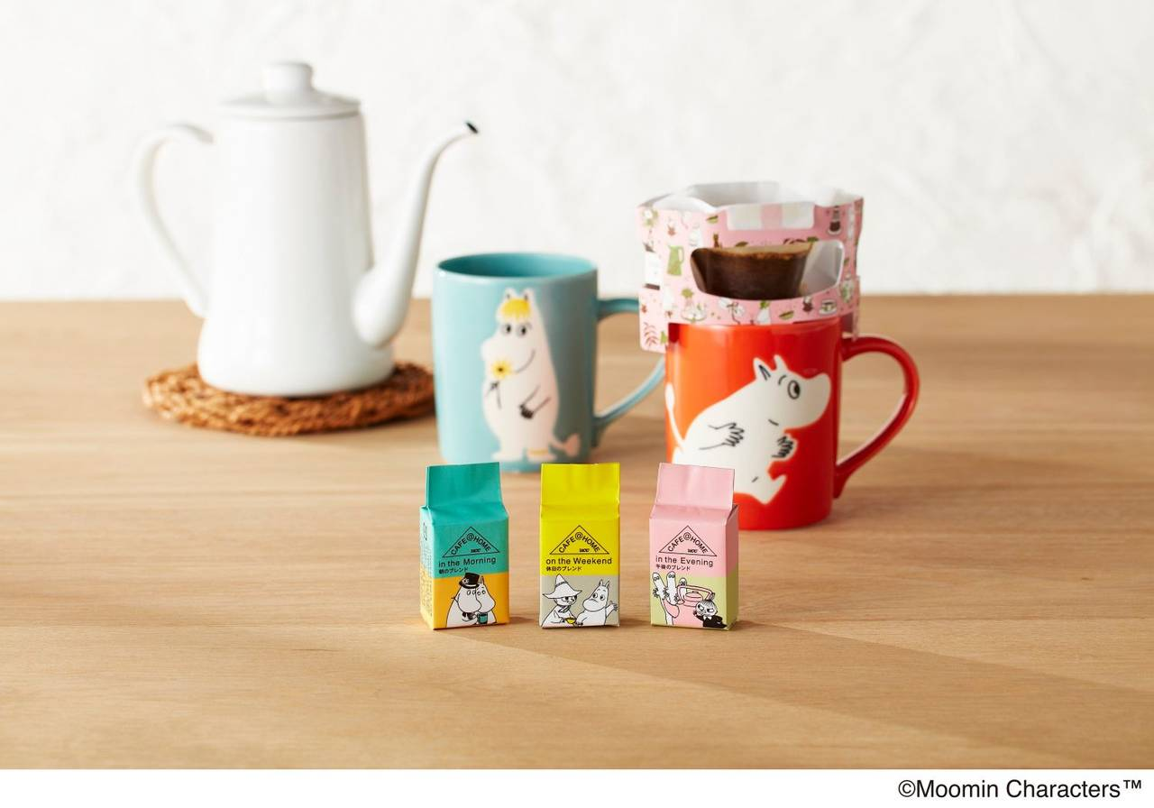 『CAFE@HOME ムーミンシリーズ』2