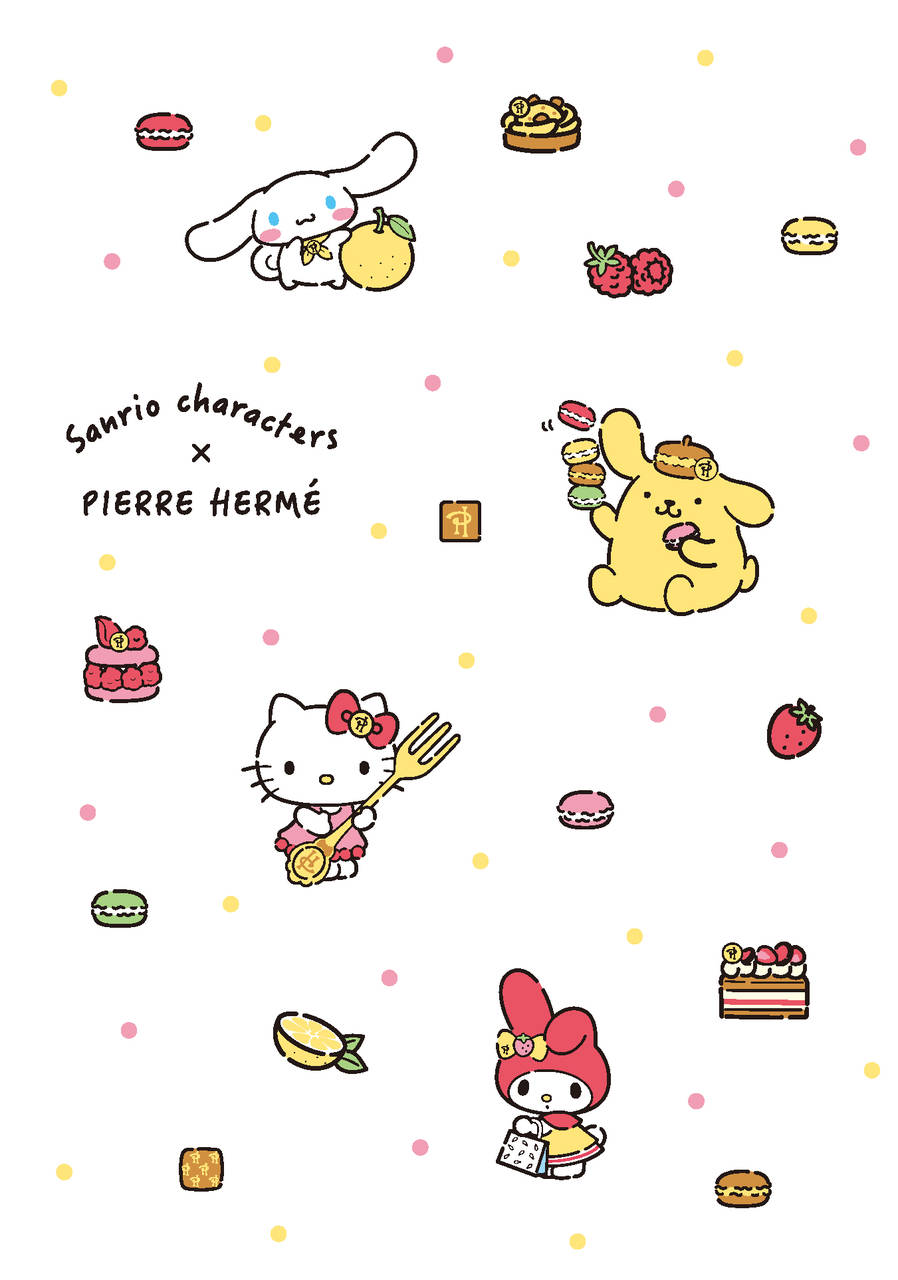 『サンリオ』×「ピエール・エルメ」4