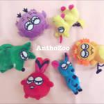 【AnthoZoo】ぬいぐるみキーホルダー2