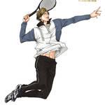 大原画展「テニスの王子様」×「新テニスの王子様」10