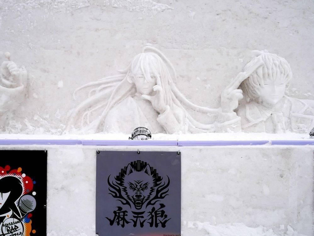 """『ヒプマイ』雪像が圧巻だった!! """"さっぽろ雪まつり""""フォトレポート写真6"""