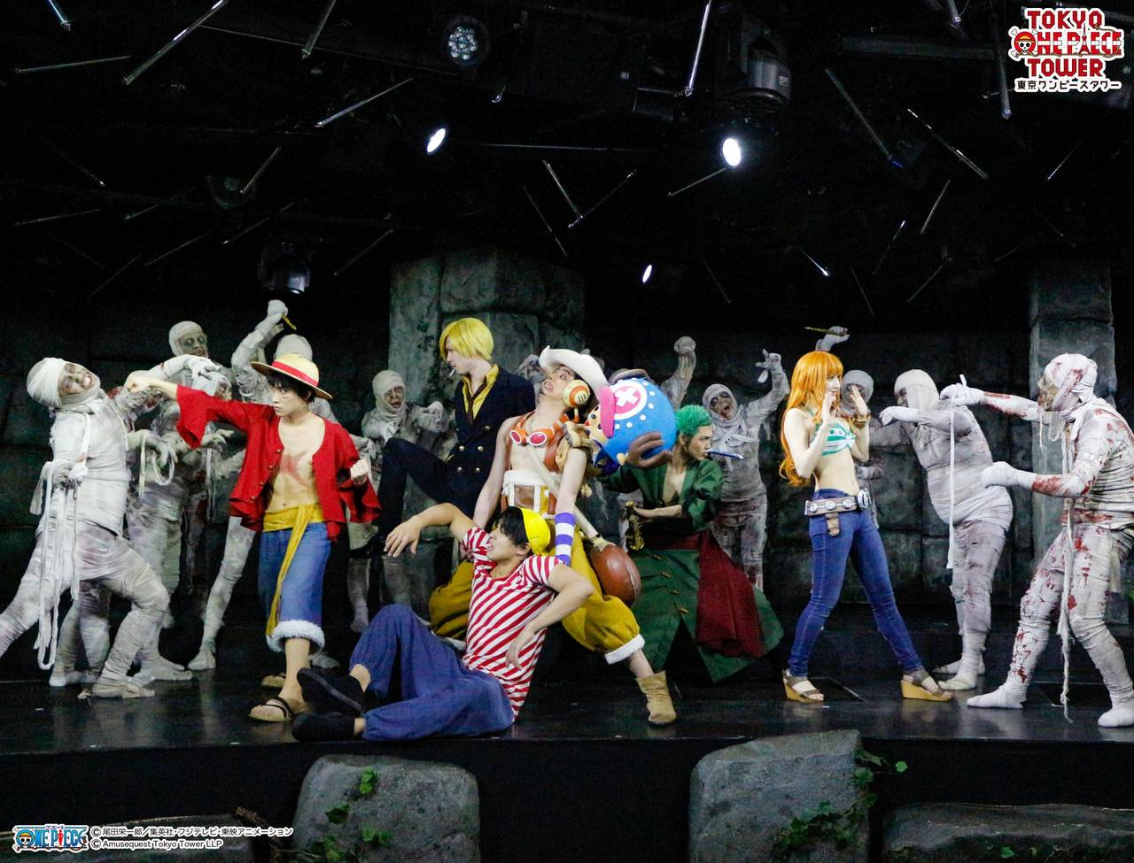 東京ワンピースタワーミッションクリア型ホラーイベント「難破船からの訪問者~蘇りしミイラの呪い~」