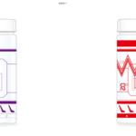 エヴァンゲリオンVR クリアボトル 全2種 画像